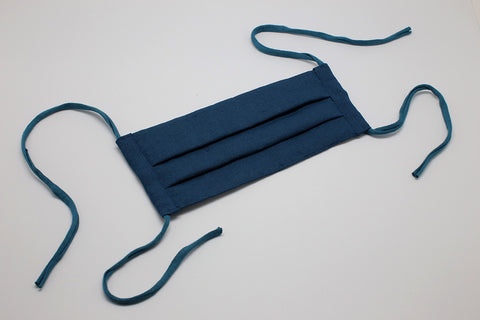 Indigo Linen - Reusable Cloth Mask