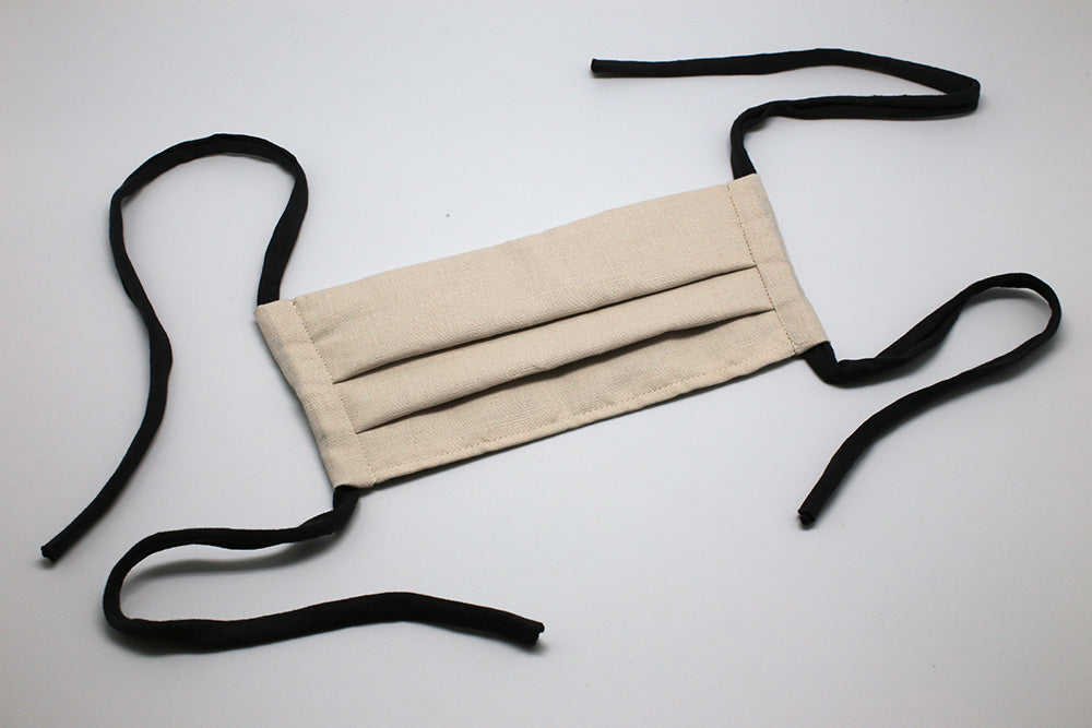 Natural Linen - Reusable Cloth Mask