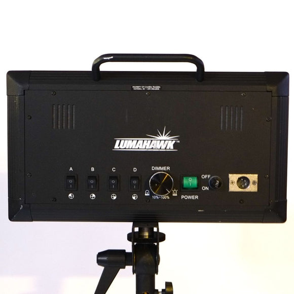 Lumahawk 2x LED Panel Kit Rental