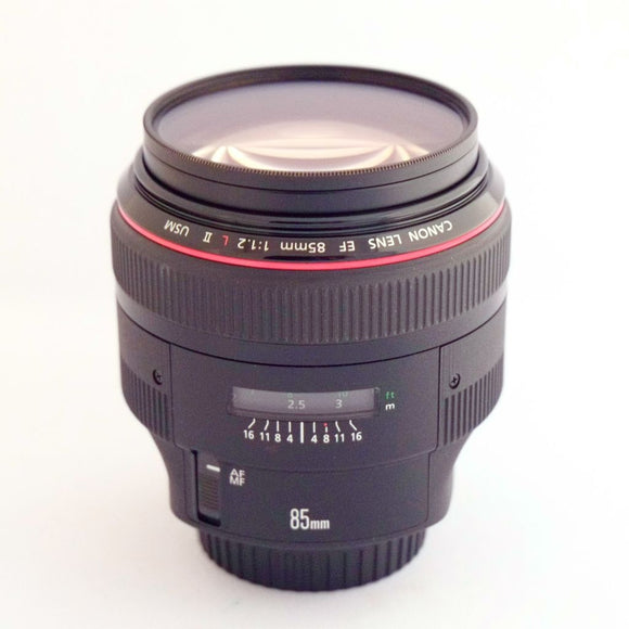 Canon EF 85mm f1.2L Rental