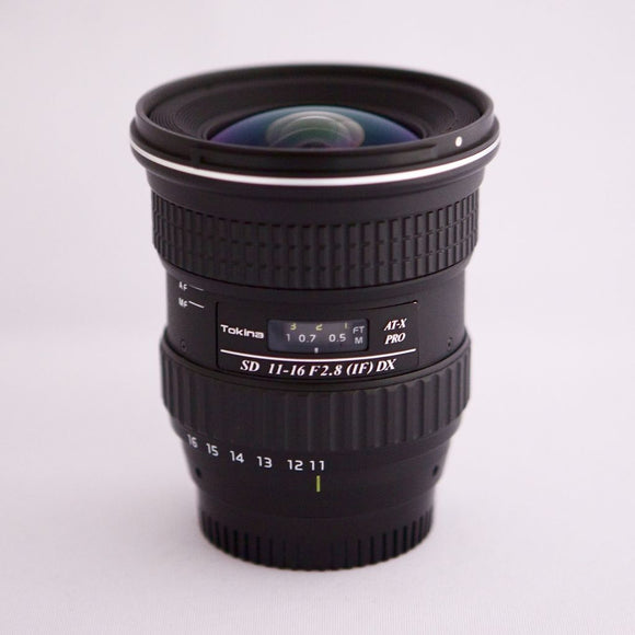 Tokina 11-16mm f2.8 IF DX Rental