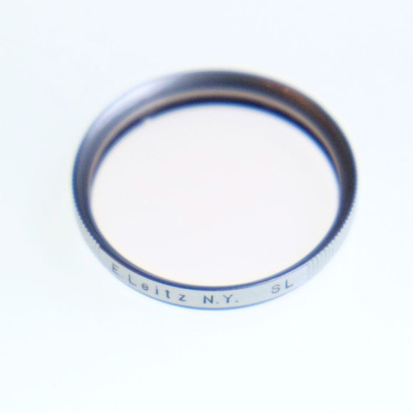 E. Leitz NY skylight filter for 39mm thread.
