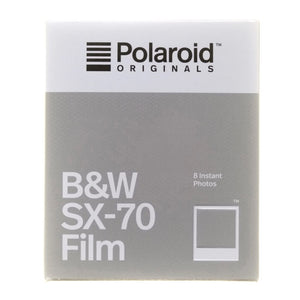 Polaroid Originals B&W SX-70 Film (EXPIRED 02/20)