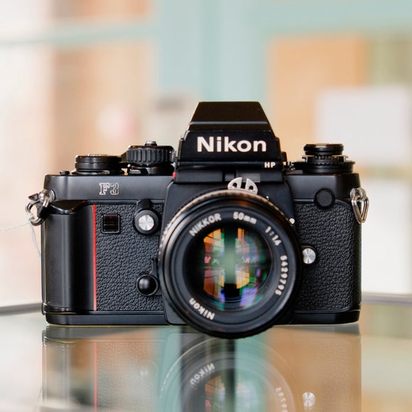 Nikon F3HP with Nikon 50mm f1.4 AI-S Nikkor