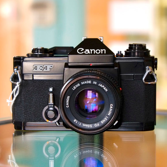 Canon EF with FD 50mm f1.8