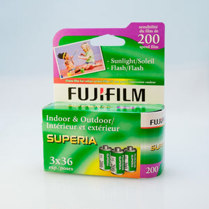 Fujifilm Superia 200 3-pack