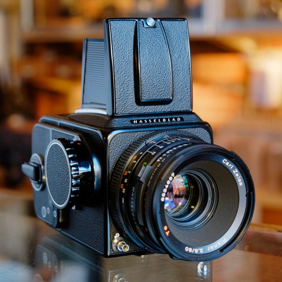 Hasselblad 500C/M with Carl Zeiss Planar CF 80mm f2.8 T*