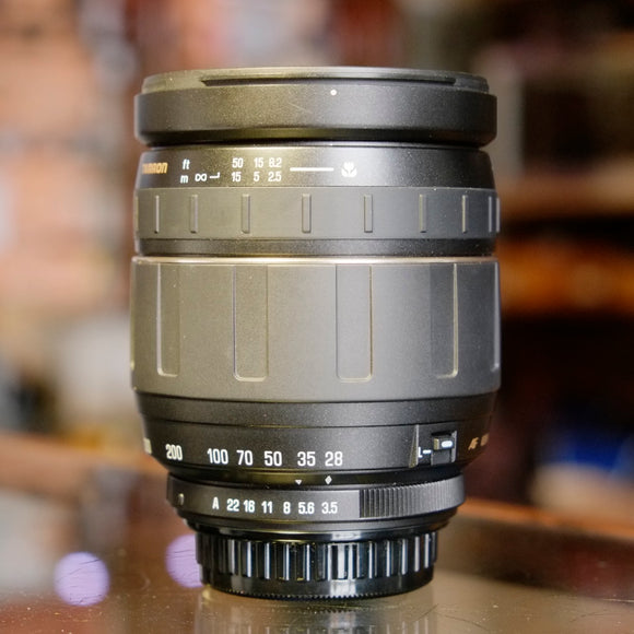 Tamron AF Aspherical 28-300mm f3.5-6.3 (model 185D) for Pentax K