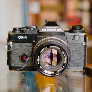 Olympus OM-4 with 50mm f1.8 F.Zuiko