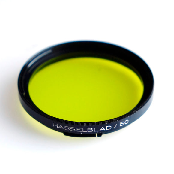 Hasselblad B50 Yellow Filter