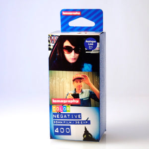Lomography ISO 400 Colour 3-pack