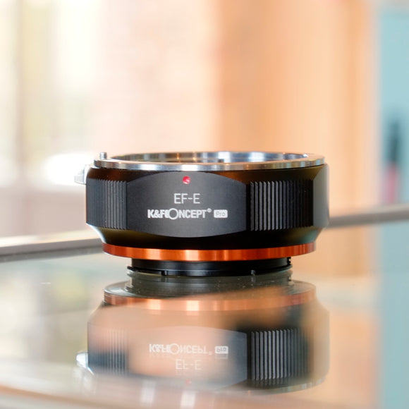 K&F Concept Canon EF to Sony E mount adapter