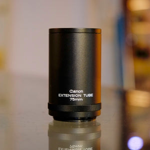 Canon 75mm extension tube