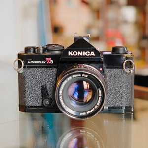 Konica Autoreflex T3 with 50mm f1.7 Hexanon