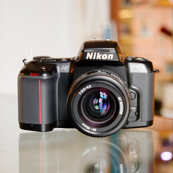 Nikon F-601 Quartz Date with 35-70mm f3.3-4.5 lens