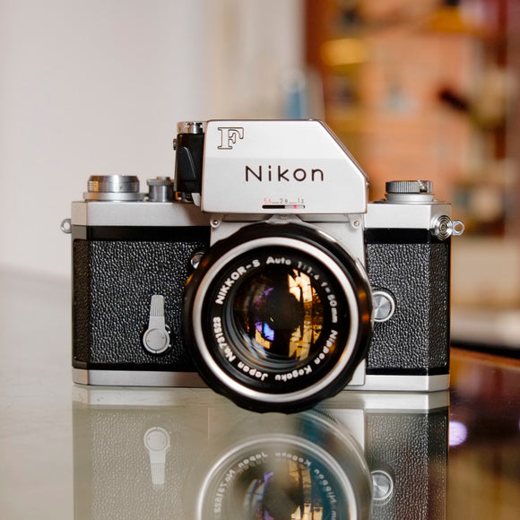 Nikon F with Nippon Kogaku 50mm f1.4 Nikkor-S