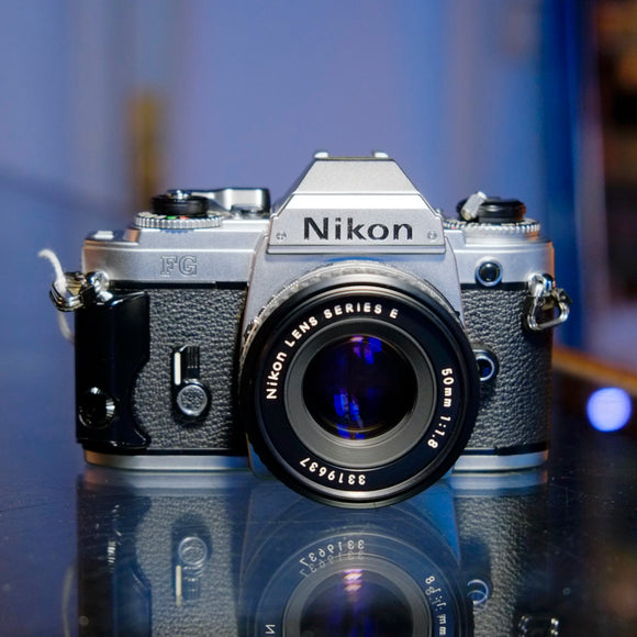Nikon FG with Nikon Series E 50mm f1.8