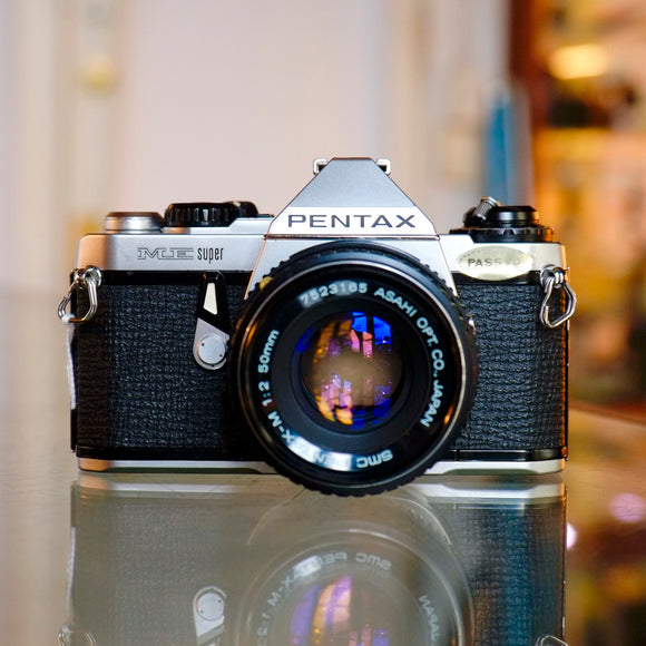 Pentax ME Super with 50mm f2
