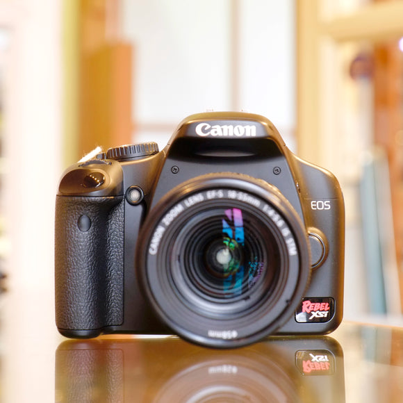 Canon EOS Rebel XSi with 18-55mm IS STM