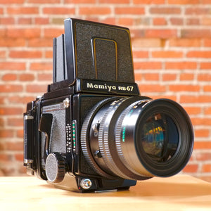 Mamiya RB67 Professional SD with K/L 90mm f3.5