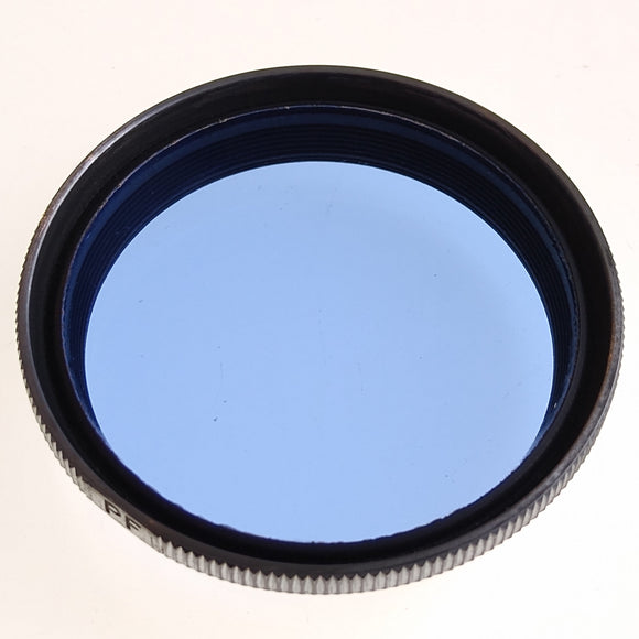 E. Leitz NY FIFLO Photoflood (Blue) filter.