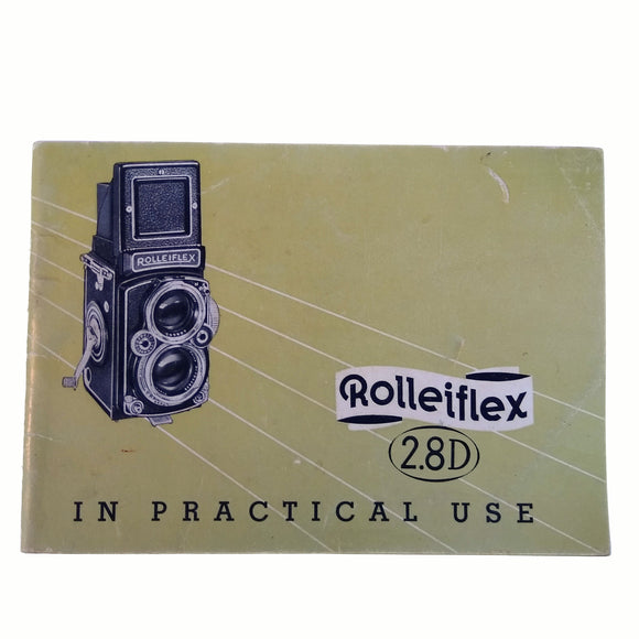 Rolleiflex 2.8D Instruction Manual.