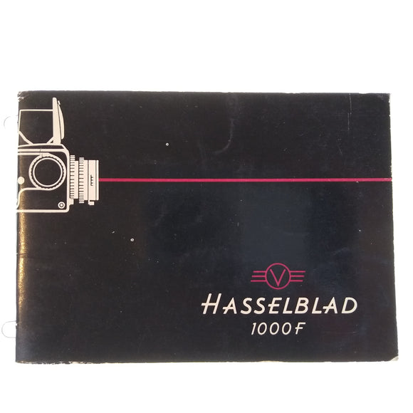 Hasselblad 1000F Instruction Manual (German).