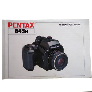 Pentax 645n Instruction Manual.