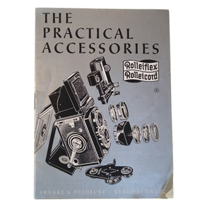 """The Practical Accessories"" (no. 0654) Brochure for Rolleiflex and Rolleicord."