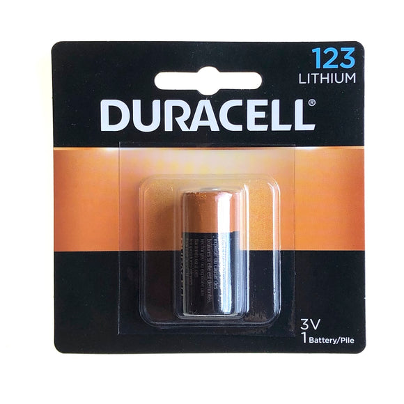 Duracell 123A (3v)