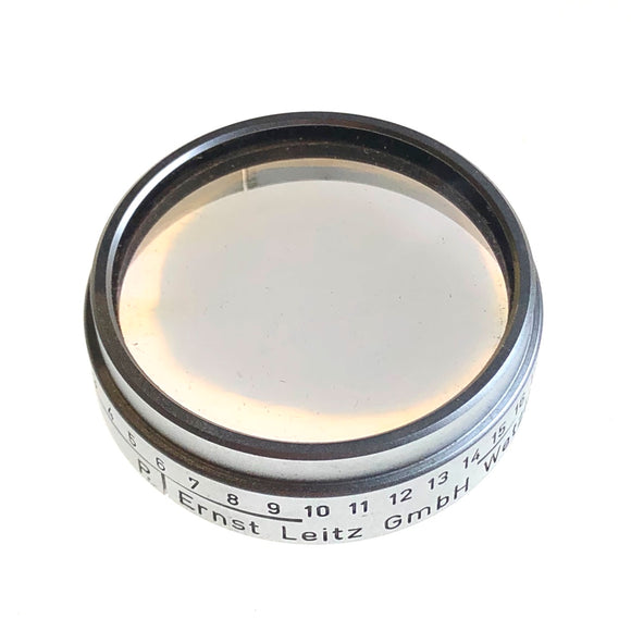 Leitz A36 POOEL (polarizing) filter except it has problems