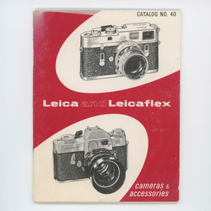 Leica and Leicaflex Catalog no. 40.
