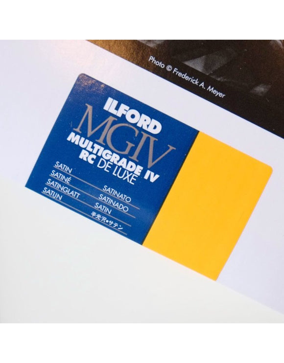 Ilford Multigrade IV RC Deluxe Satin (25 sheets)