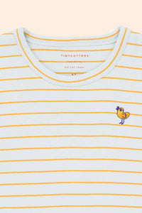 Tinycottons Bird Stripes Tee
