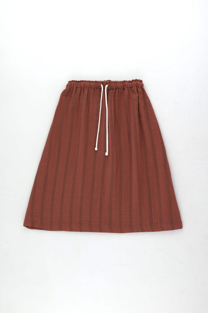 Tinycottons Stripes Long Skirt