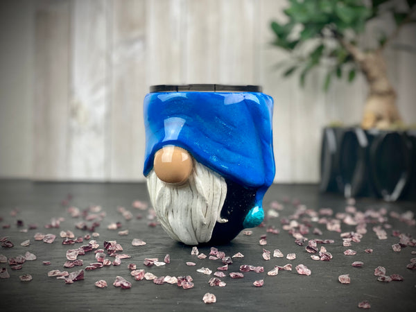 3D Sculpted Gnome Wine Tumbler