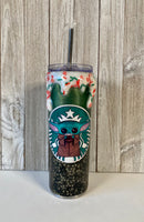 "Custom ""Hot Choccy"" Resin Tumbler"
