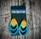 Teardrop Dangle Earrings