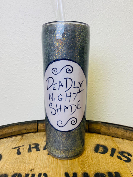 Deadly Night Shade Custom Tumbler