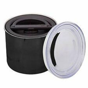 "Airscape Coffee Storage Container - 4"" Black"
