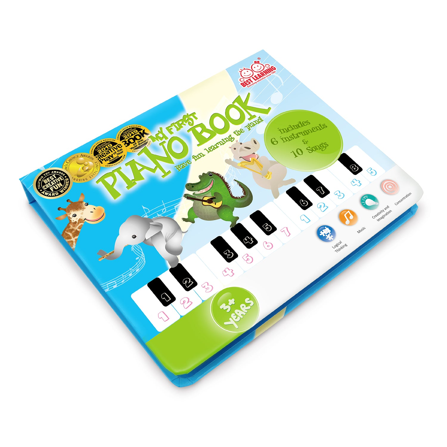 BEST LEARNING My First Piano Book | Educational & Fun Toys ...
