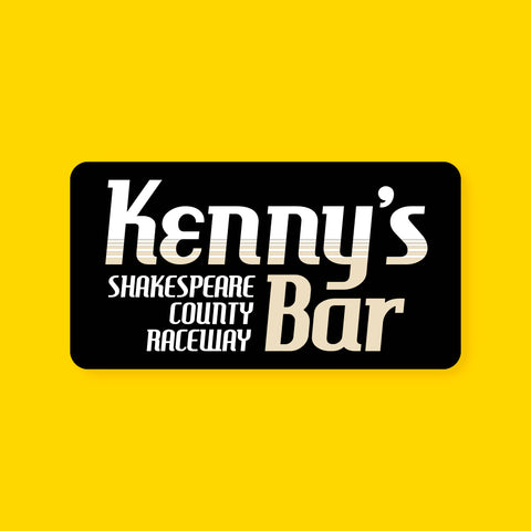Kenny's Bar Decal/Sticker