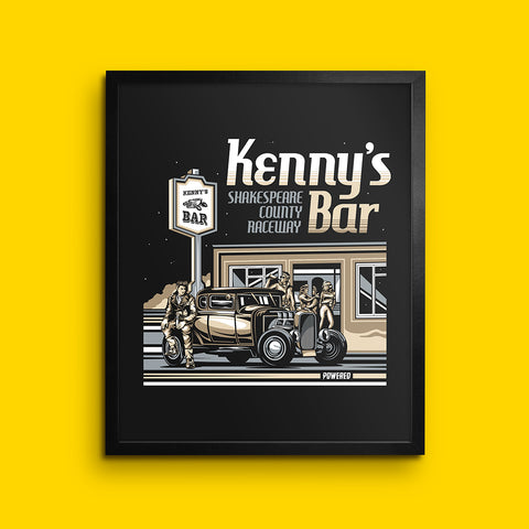 Kenny's Bar - Wall Print