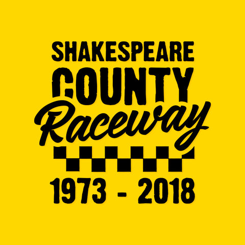 Shakespeare County Raceway - Black Vinyl Decal/Sticker