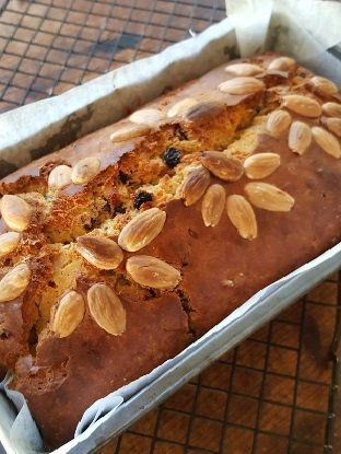 Banana Protein Nut Bread Recipe