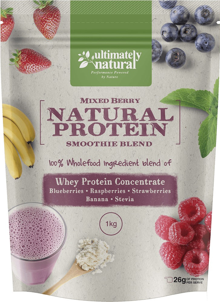 Real Berry | Natural Whey Protein Powder - Ultimately Natural