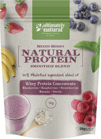 Mixed Berry | Natural Whey Protein Powder - Ultimately Natural