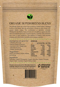 Organic Green | Superfood Blend - Ultimately Natural