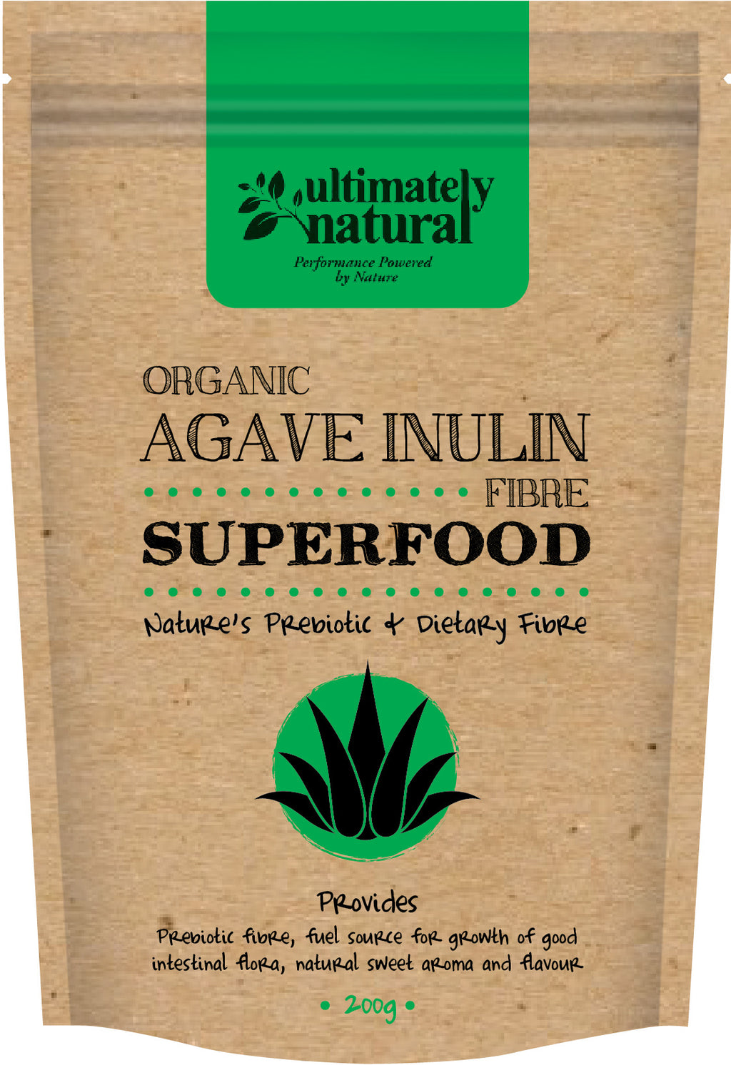 Organic Agave | Inulin Fibre - Ultimately Natural