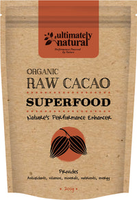 Organic Raw Cacao - Ultimately Natural